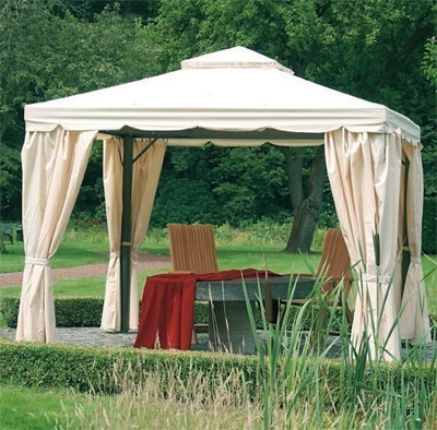 pavillon gartenpavillon dubai 300 x 300 cm anthrazit. Black Bedroom Furniture Sets. Home Design Ideas