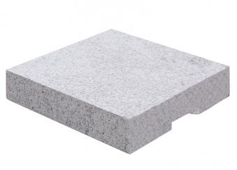 Doppler Granit Design-Platte ECO 55kg grau 50x50cm