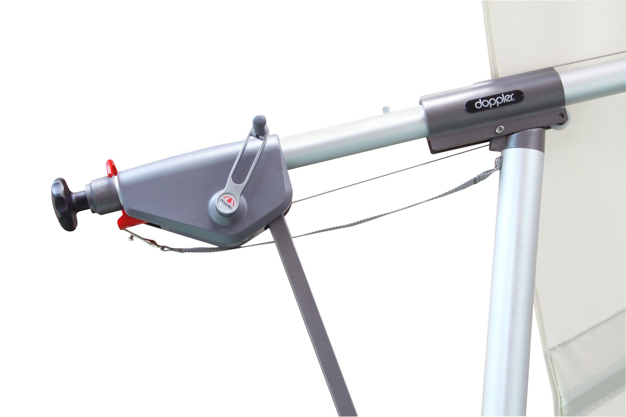 Ampelschirm Sonnenschirm Doppler Sunline Pendel 300x220cm D840 anthr. Bild 3