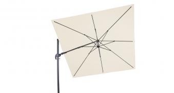 Derby Ampelschirm / Pendelschirm Ravenna AX 275x275cm D820 natur Bild 1