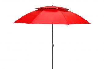 Derby Sonnenschirm / Strandschirm Windprofi 200cm Des. 809 rot Bild 1