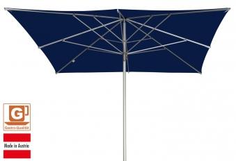 Großschirm / Sonnenschirm Doppler Alu Expert 300x300cm dunkelblau Bild 1