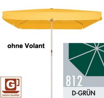 Großschirm / Sonnenschirm Doppler Alu Expert 350x350cm dunkelgrün Bild 1