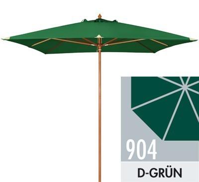 Großschirm / Sonnenschirm Doppler Monte Carlo Luxus 300x300 904 d-grün Bild 1
