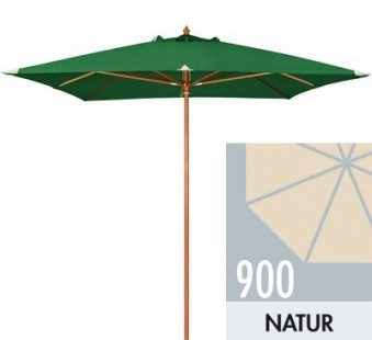 Großschirm / Sonnenschirm Doppler Monte Carlo Luxus 300x300 D900 natur Bild 1