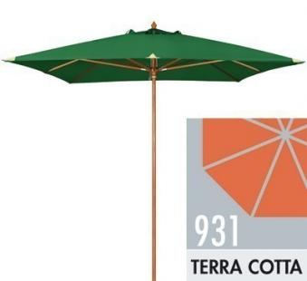 Großschirm / Sonnenschirm Doppler Monte Carlo Luxus 300x300 D931 terra Bild 1