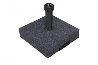 Doppler Sonnenschirmständer mit Rollen Beton 40kg Rohr-Ø 26-50mm