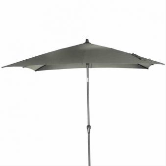 Sonnenschirm Gartenschirm rechteckig Siena Garden Avio 250x250cm olive Bild 1
