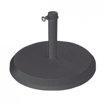 Schirmständer Doppler Betonsockel mit PE-Mantel 25 kg Ø40 mm anthrazit