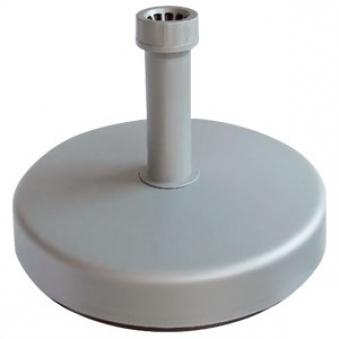 Sonnenschirmständer Vollkunststoff 25 kg silber Ø 21 - 54 mm