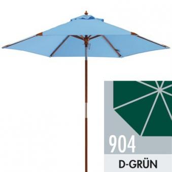 Sonnenschirm / Holzschirm Doppler Havanna Junior Ø 240cm D904 d-grün Bild 1