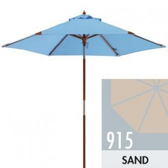 Sonnenschirm / Holzschirm Doppler Havanna Junior Ø 240cm D915 sand Bild 1
