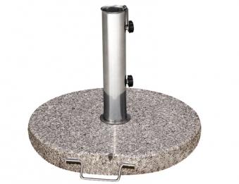 Siena Garden Sonnenschirmständer Granit 30kg granitgrau Ø 25-48mm
