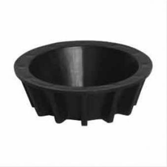 Reduzierhülse schwarz für Betonschirmständer 20-40 kg