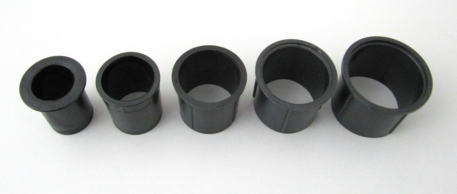 Aluminiumrohr Set 5-fach Adapter für Schirmstöcke Ø 26 - 56 mm grau Bild 2