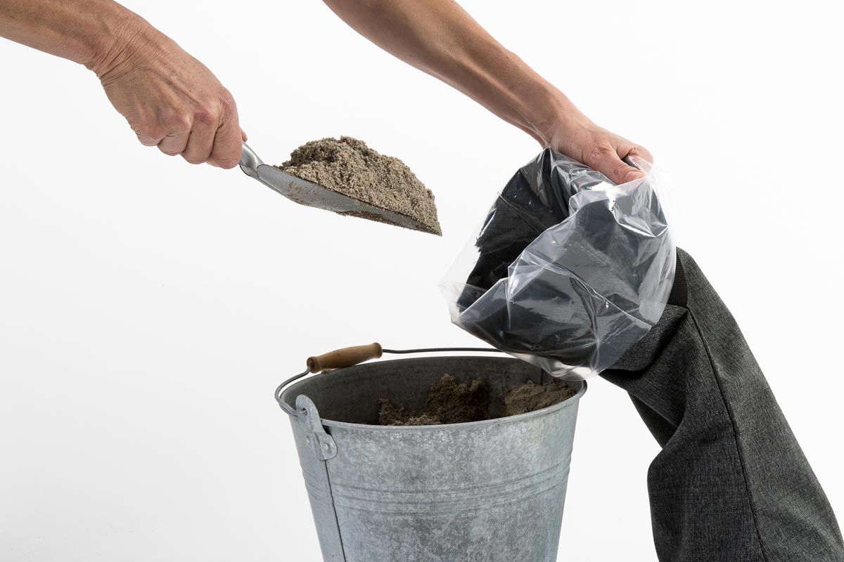 Baser Outdoor Sandsäcke 2 Stck à 15kg 70x23cm dunkelgrau Bild 3