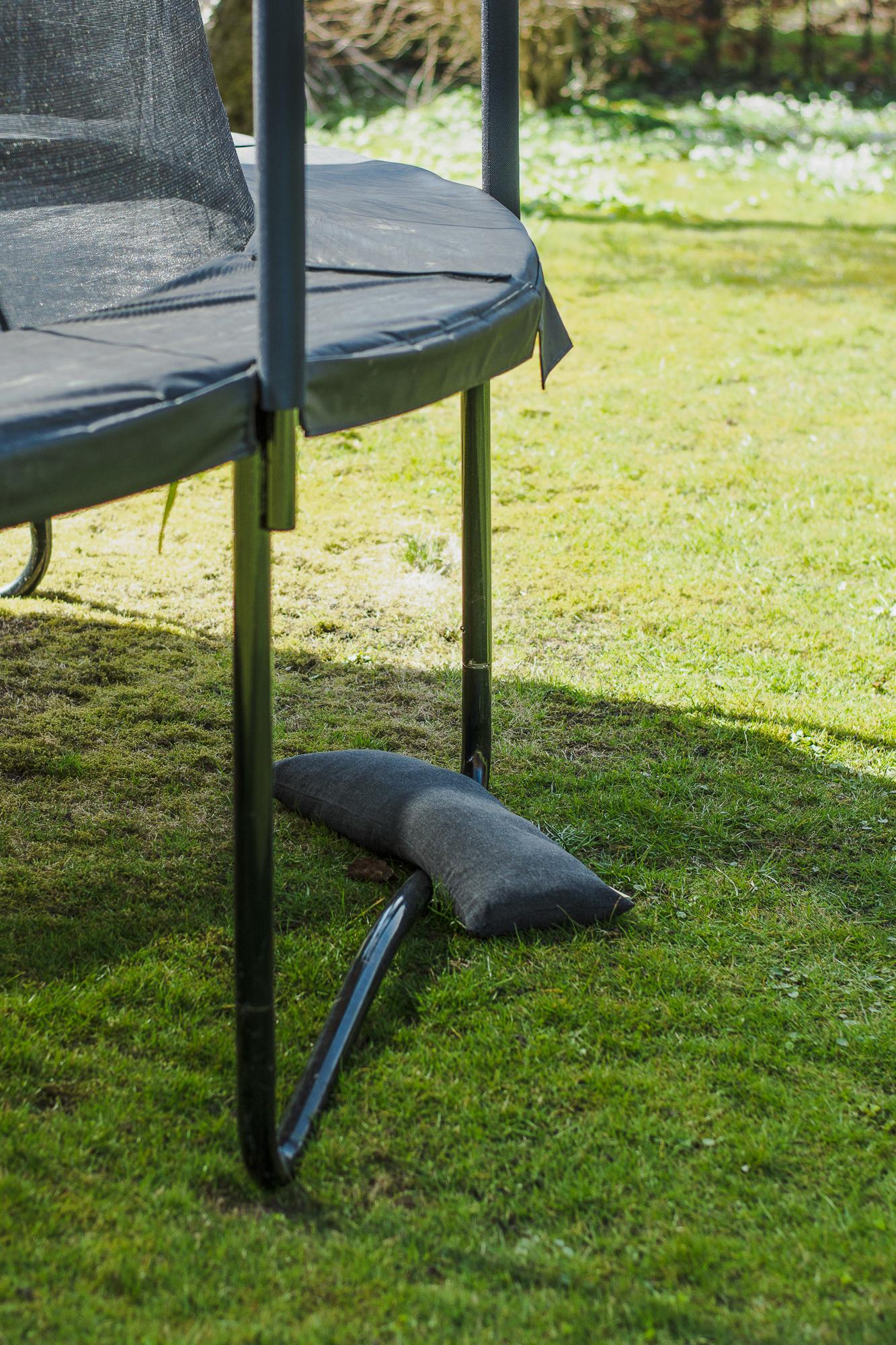 Baser Outdoor Sandsäcke 2 Stck à 15kg 70x23cm dunkelgrau Bild 4