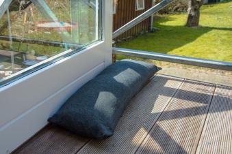 Baser Outdoor Sandsäcke 2 Stck à 15kg 70x23cm dunkelgrau Bild 5