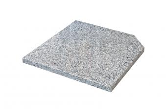 Doppler Design Granit Platte 25kg grau 50x50x4cm Bild 1
