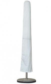 Schirmhülle / Schutzhülle für Sonnenschirm rund Ø300cm / Rechteck weiß Bild 1