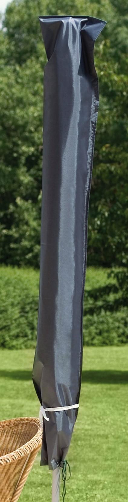 Schutzhülle Deluxe Wehncke für Schirme Ø 300cm anthrazit Bild 1