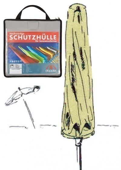 Schutzhülle Schirmhülle Doppler Profi Line f. Sonnenschirm bis Ø350cm Bild 1