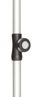 Unterrohr Doppler für Sonnenschirm Active 28/32mm silber Bild 1