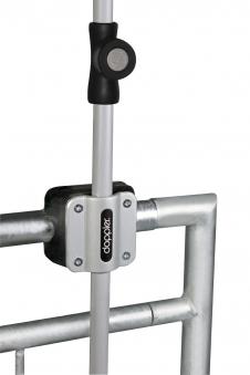 Balkonklammer Doppler Fix Vario für Schirmstock bis Ø 32 mm Bild 1