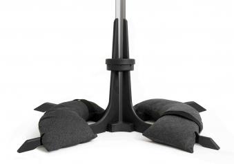 Baser Sonnenschirmständer 40kg dunkelgrau Bild 1