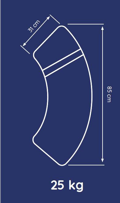 Baser Sonnenschirmständer 50kg dunkelbraun Bild 3