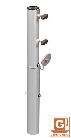 Bodenhülse Doppler für Sonnenschirm Ø60mm Bild 1
