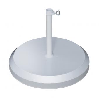 Doppler Sonnenschirmständer Beton 20kg silber Rohr-Ø 19-25mm Bild 1