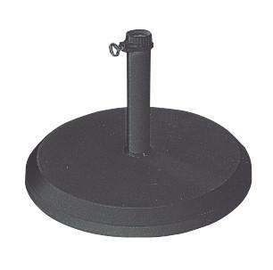 Schirmständer Doppler Betonsockel mit PE-Mantel 25 kg Ø40 mm anthrazit Bild 1