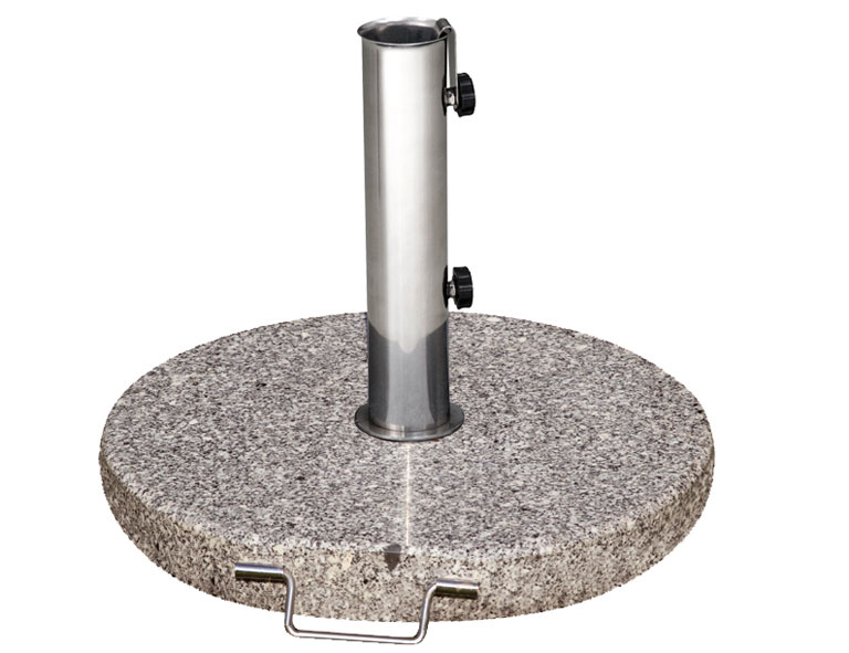 Siena Garden Sonnenschirmständer Granit 30kg granitgrau Ø 25-48mm Bild 1