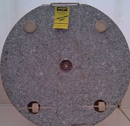 Siena Garden Sonnenschrimständer Granit 40kg granitgrau Ø 25-48mm Bild 2