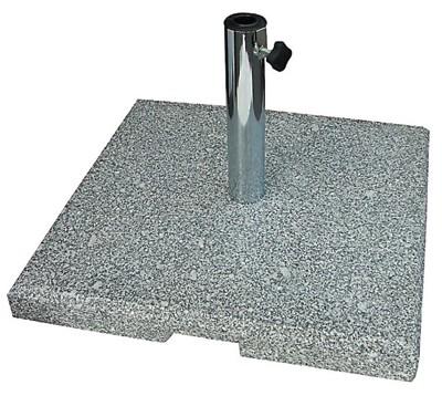 sonnenpartner sonnenschirmst nder granit 40 kg 25 55mm grau bei. Black Bedroom Furniture Sets. Home Design Ideas
