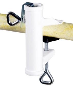 Sonnenschirmhalter / Balkonschirmhalterung Typ H Ø 25 mm Bild 1