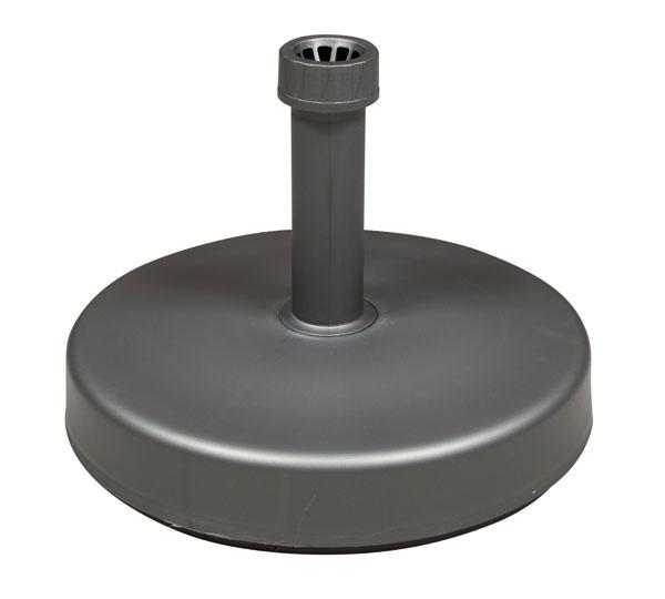 Sonnenschirmständer Doppler Füllsockel 25 kg Ø 20-50 mm anthrazit Bild 1