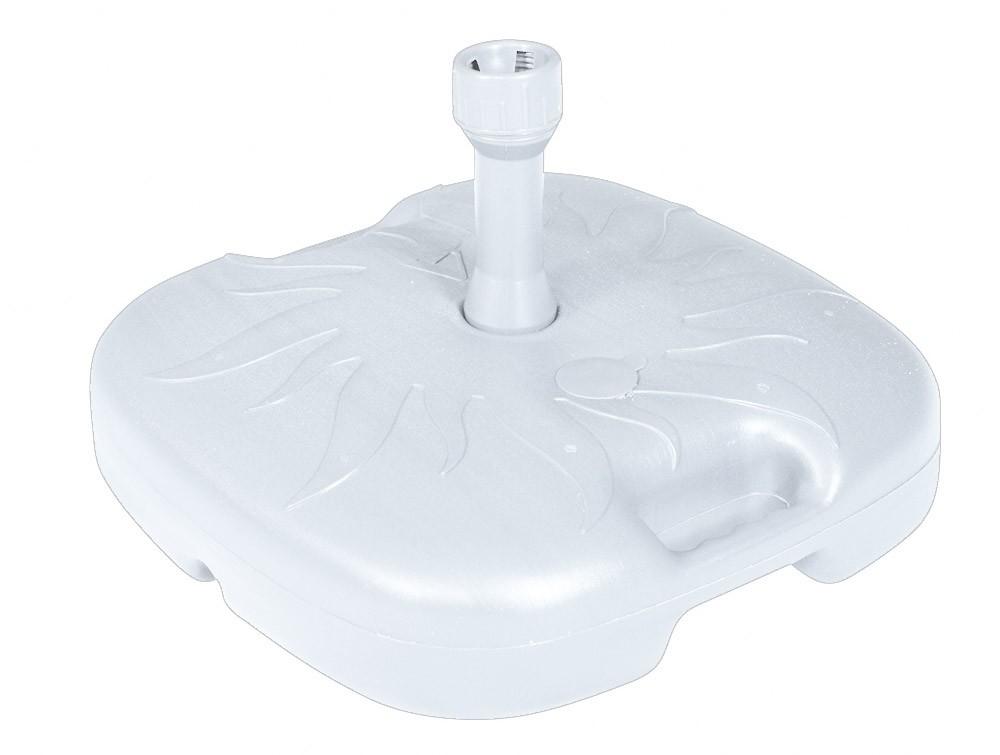 Sonnenschirmständer Doppler PE-Sockel 20kg bis Ø 33 mm weiß Bild 1