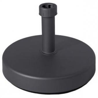 Sonnenschirmständer Vollkunststoff 3,5 kg anthrazit Ø 21 - 54 mm Bild 1