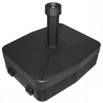 Sonnenschirmständer Vollkunststoff 40 kg anthrazit Ø 21 - 54 mm Bild 1