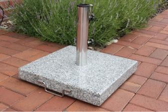sonnenschirmst nder granit 45 kg 28 50 mm bei. Black Bedroom Furniture Sets. Home Design Ideas