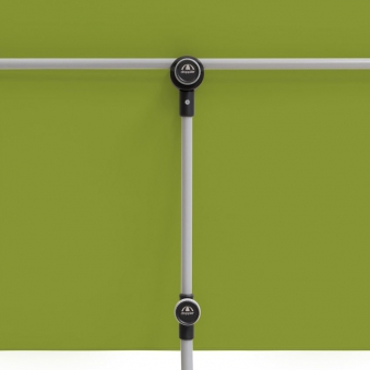 Doppler Sonnenschirm / Active Balkonblende 180x130cm D 836 grün Bild 10
