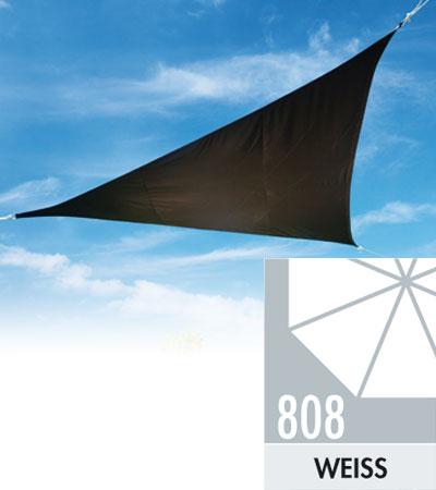 Doppler Sonnensegel Alupro Dreieck 500x500x500cm weiß Bild 1