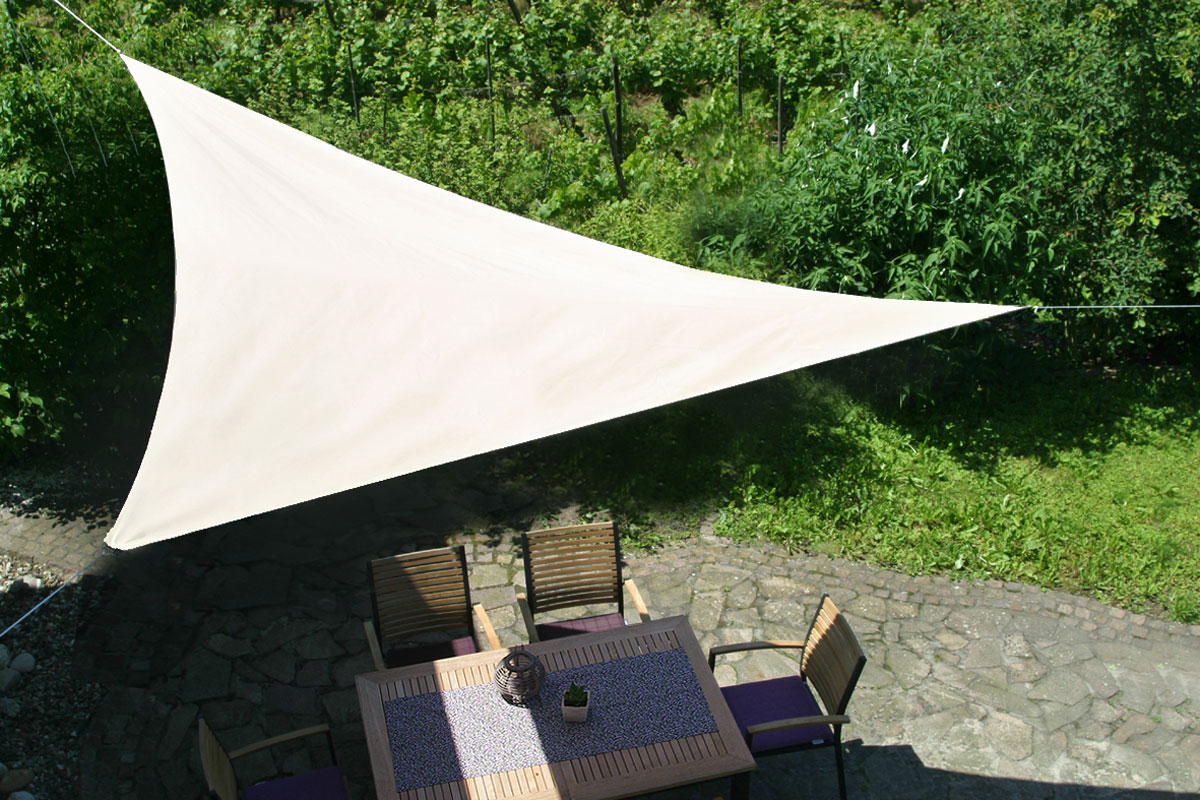 Sonnensegel / Dreiecksegel GO-DE 360 x 360 x 360 cm Dessin 1012 Bild 1