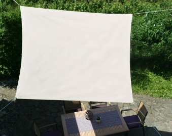 Sonnensegel / Vierecksegel GO-DE 500 x 500 cm Dessin 1012 Bild 1