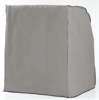 Schutzhülle Sonnenpartner Strandkorb 2 Sitzer grau Ausführung schwer Bild 1