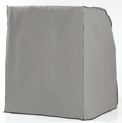 Schutzhülle Sonnenpartner Strandkorb XL-Sitzer grau Ausführung schwere Bild 1