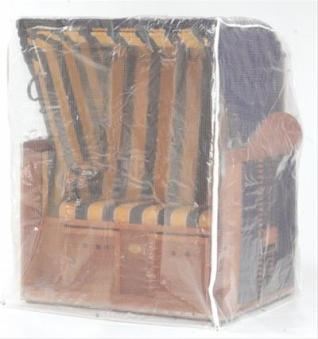 Schutzhülle Sonnenpartner Strandkorb XL Sitzer transparent mittelschw. Bild 1