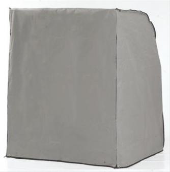 Schutzhülle Strandkorb 250 Plus 1 Sitzer grau Ausführung schwer Bild 1